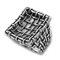 Сребърен пръстен без камък 1505937