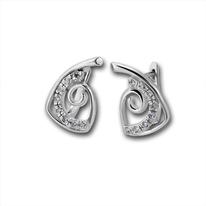 Oбици с камъни от сребро - 138469