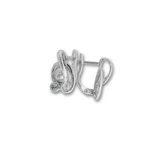 Oбици с камъни от сребро - 114536