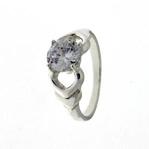 Пръстени с камък от сребро - 1605645