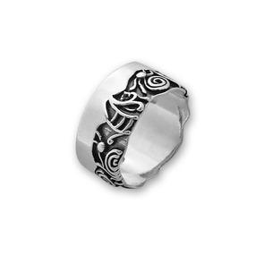 Сребърни пръстени без камък - 1666006