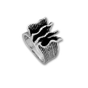 Сребърни пръстени без камък - 1535236