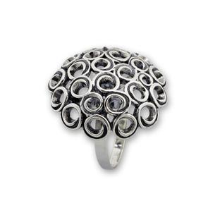 Сребърни пръстени без камък - 1536051