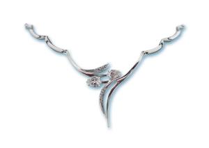 Колие от сребро 700157