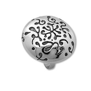 Сребърен пръстен без камък 1535993