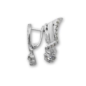 Oбици с камъни от сребро - 139045