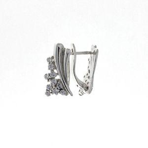 Oбици с камъни от сребро - 138667