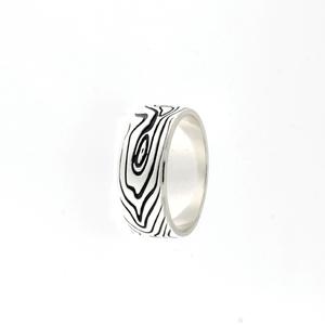 Сребърен пръстен без камък 1666157