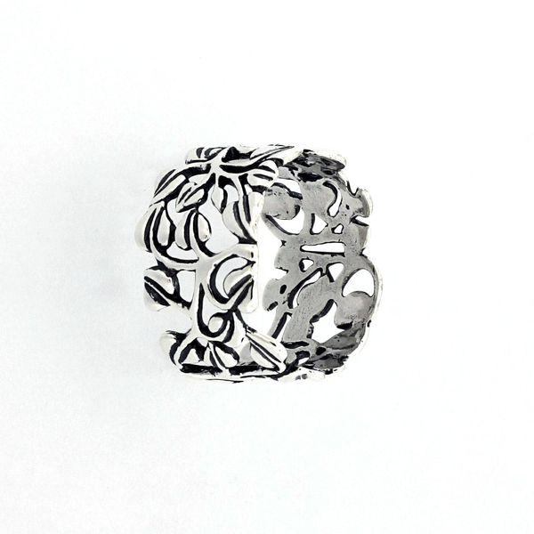 Сребърен пръстен без камък 1536155