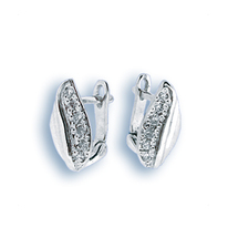 Oбици с камъни от сребро - 138983