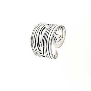 Сребърен пръстен без камък 1536156