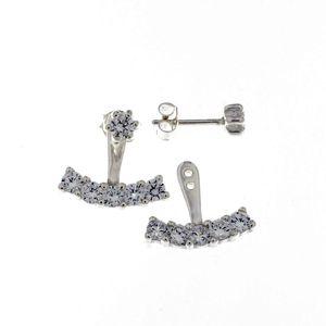 Oбици с камъни от сребро - 139321