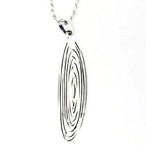 Висулки от сребро без камък - 181156