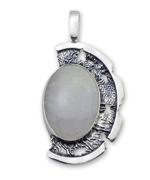Висулки  уникати от сребро и полускъпоценни камъни 8903015