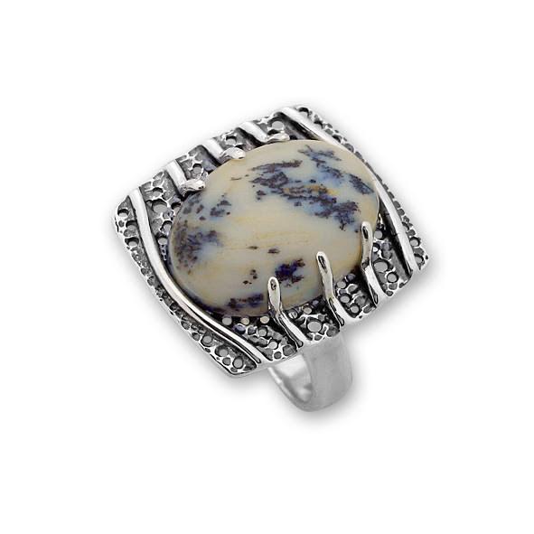 Пръстени  уникати от сребро и полускъпоценни камъни 8905150