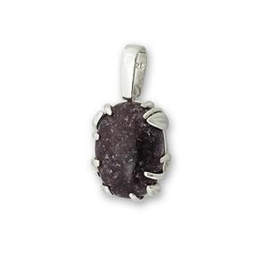 Сребърни бижута с естествени камъни - Висулки уникати от сребро и полускъпоценни камъни - 8983209