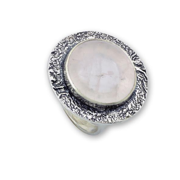 Пръстени  уникати от сребро и полускъпоценни камъни 8905092