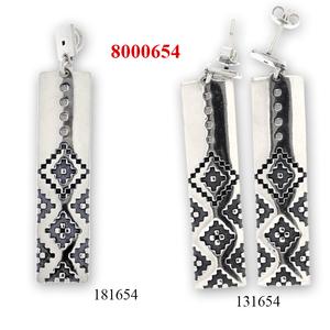 Сребърни бижута - комплекти - 8000654