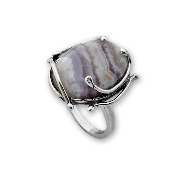 Пръстени  уникати от сребро и полускъпоценни камъни 8905152