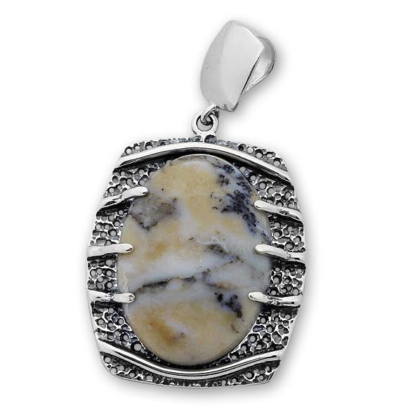 Висулки  уникати от сребро и полускъпоценни камъни 8903150