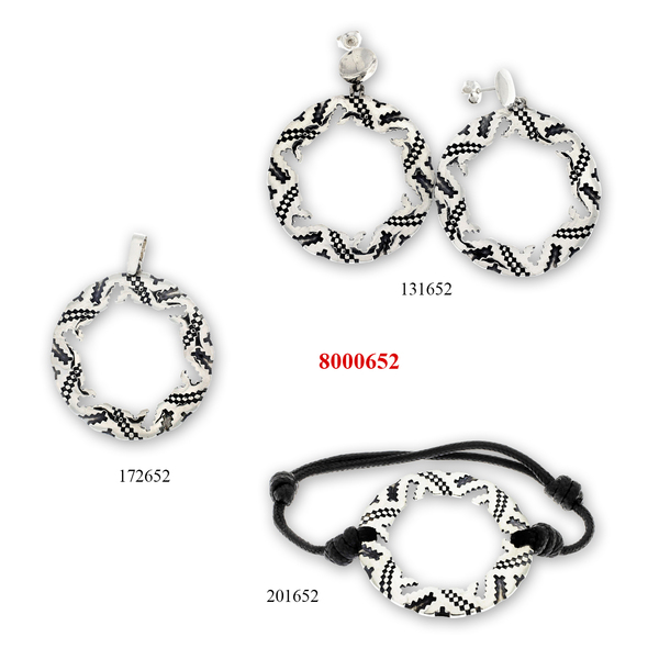 Сребърни бижута - комплект 8000652