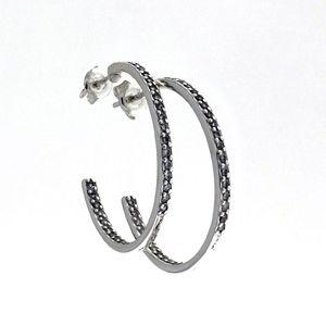 Oбици с камъни от сребро - 139314