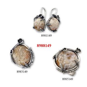 Бижу уникат с естествен камък - 8908149