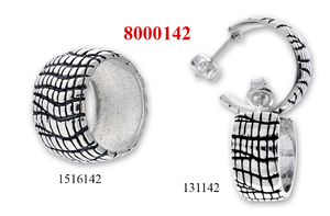 Сребърни бижута - комплект 8000142