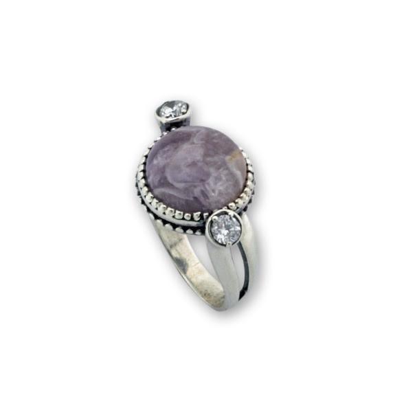 Пръстени  уникати от сребро и полускъпоценни камъни 8905221
