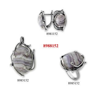 Бижу уникат с естествен камък - 8908152
