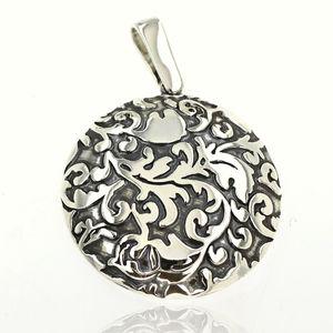 Висулка от сребро без камък 180133