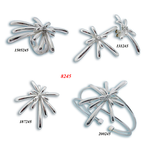 Сребърни бижута - комплект 8000245