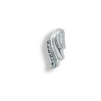 Висулки от сребро с камък - 186004
