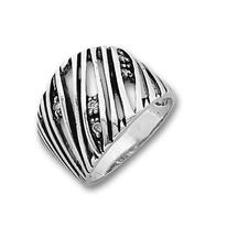 Пръстени с камък от сребро - 1615936