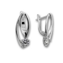 Oбици с камъни от сребро - 114474