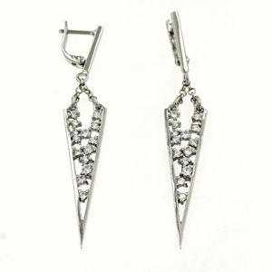 Oбици с камъни от сребро - 139119