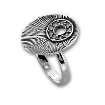 Пръстени с камък от сребро - 1625493