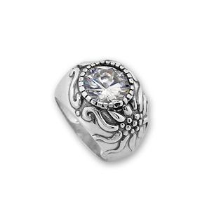 Пръстени с камък от сребро - 1586041