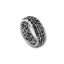 Сребърни пръстени без камък - 1545214