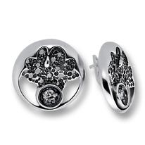 Oбици с камъни от сребро - 130860