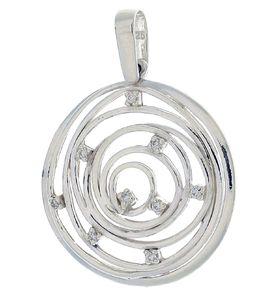 Висулки от сребро с камък - 176099