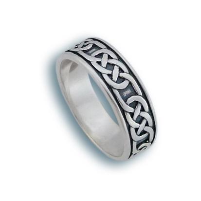 Сребърен пръстен без камък 1665163