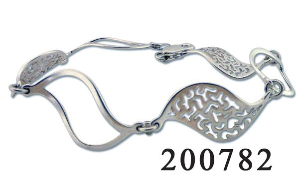 Сребърна гривна 200782