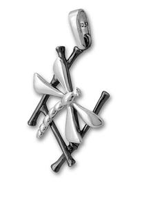 Висулки от сребро без камък - 180914