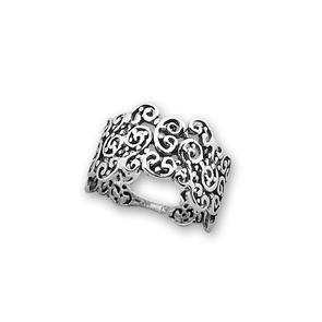 Сребърни пръстени без камък - 1536033