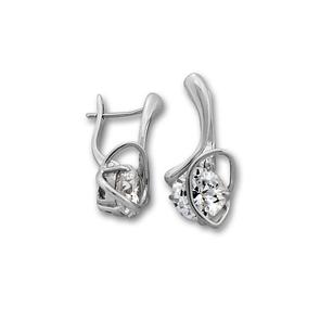 Oбици с камъни от сребро - 121925