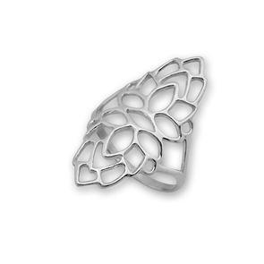 Сребърни пръстени без камък - 1566027