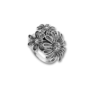 Сребърни пръстени без камък - 1545219
