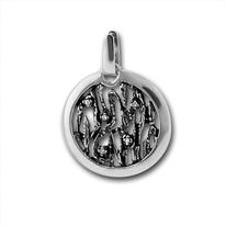 Висулки от сребро с камък - 176881