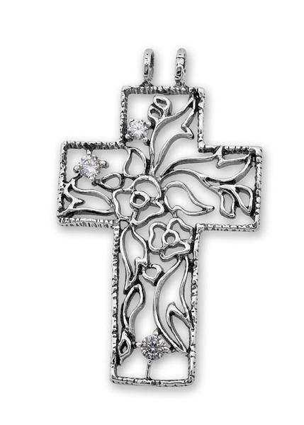 Сребърен кръст 193582